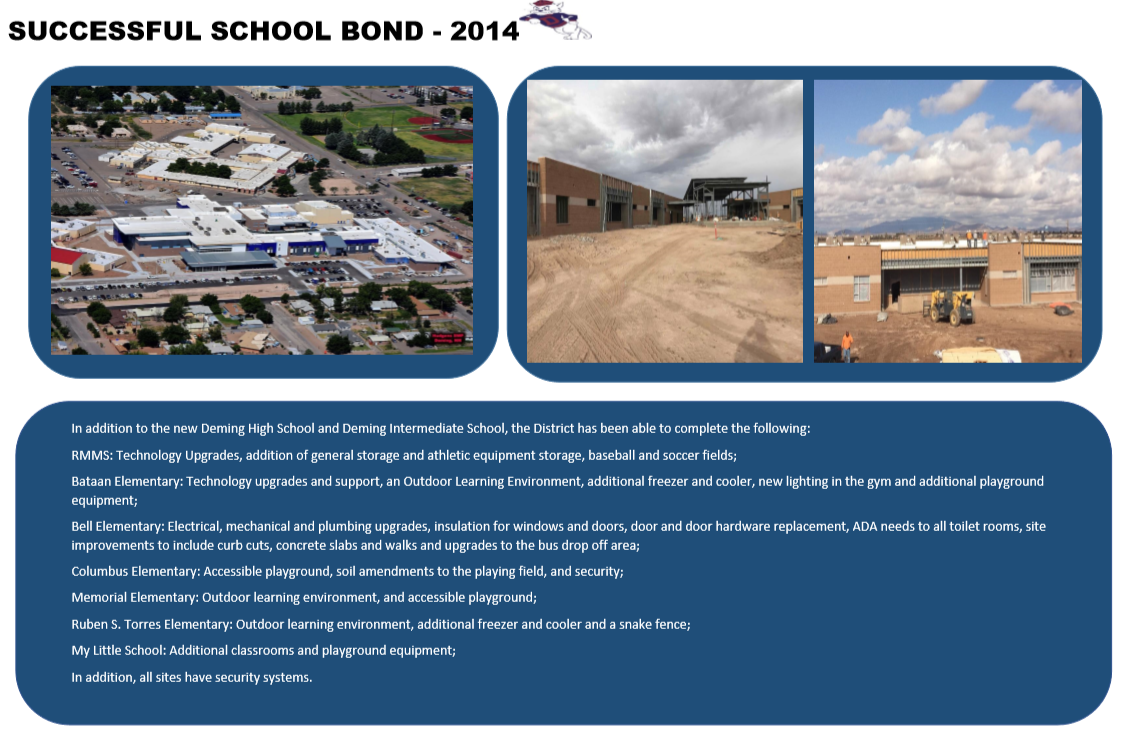 Deming Public Schools 2018 Bond