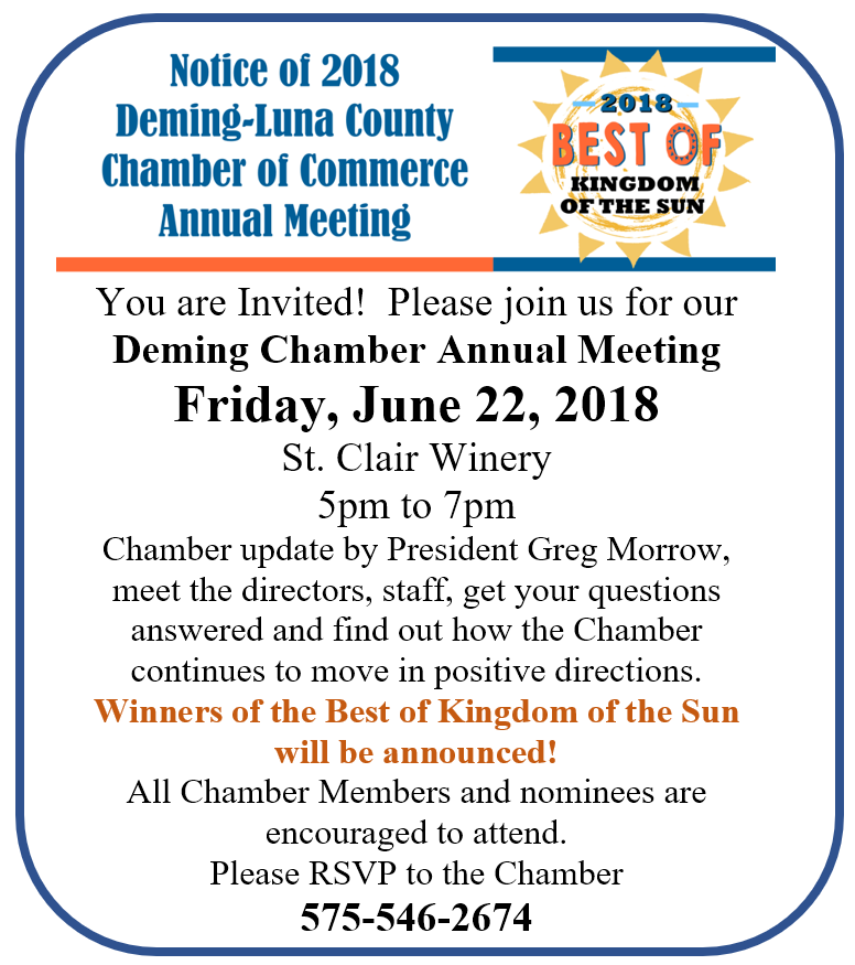 Annual Meeting June 22nd