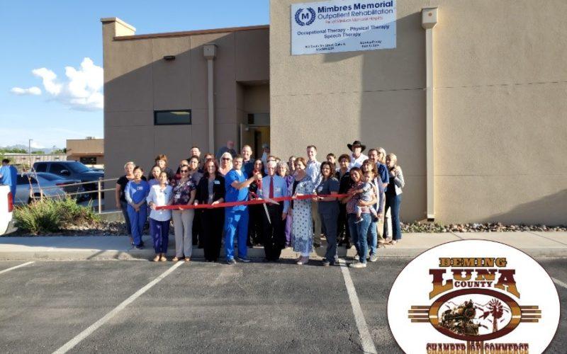 Mimbres Memorial Outpatient Rehabilitation Ribbon Cutting