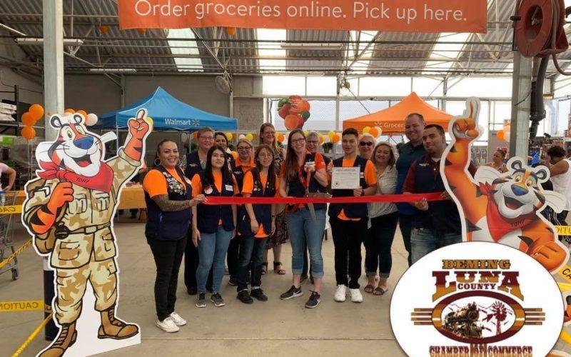 Walmart Online Grocery Pickup Ribbon Cutting