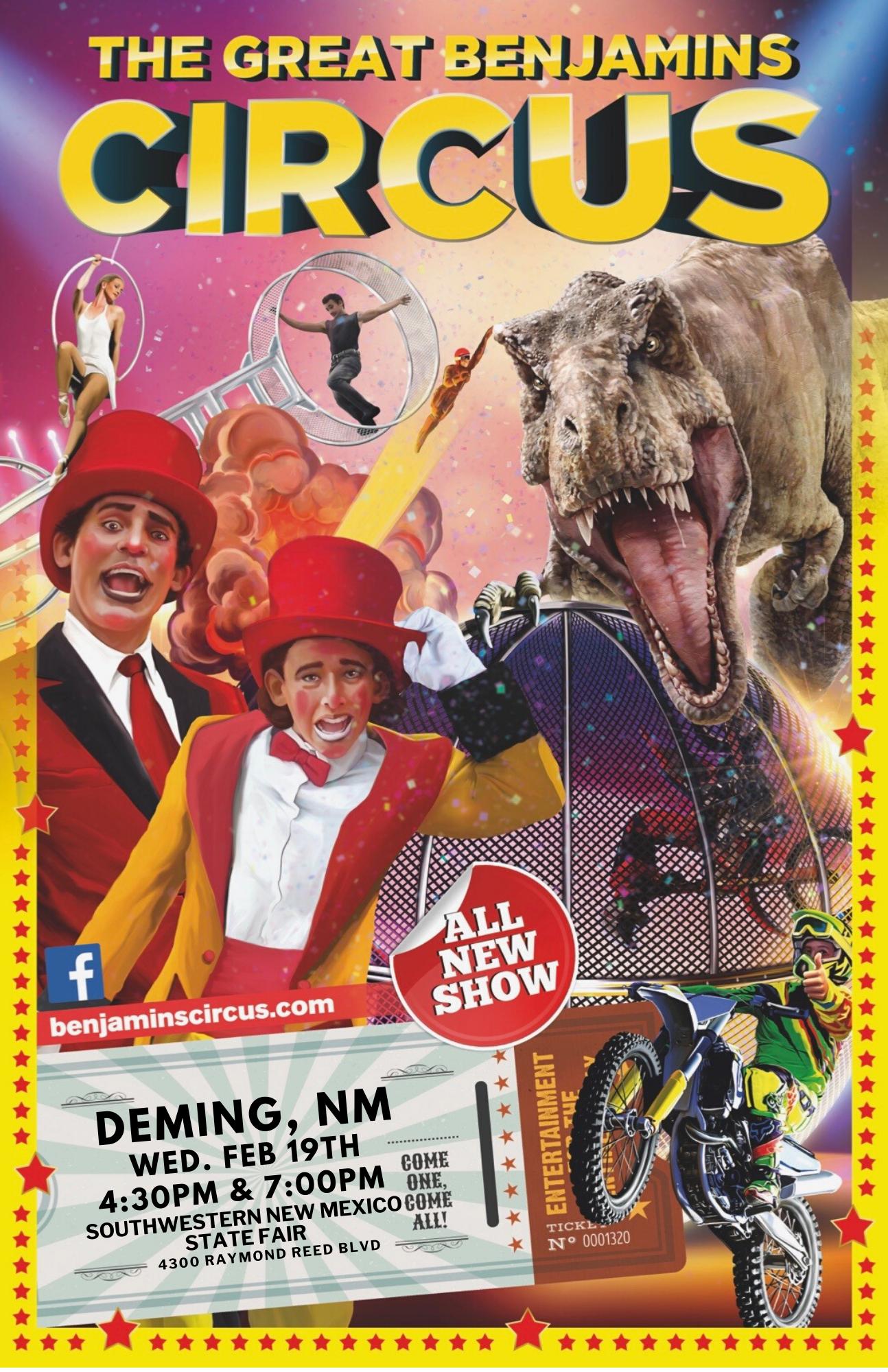 Deming Circus Poster