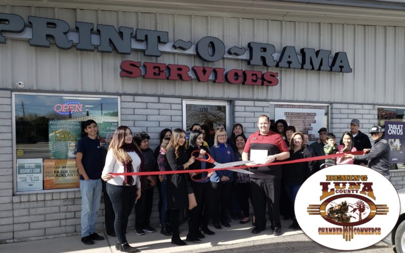 Print-O-Rama Services Ribbon Cutting