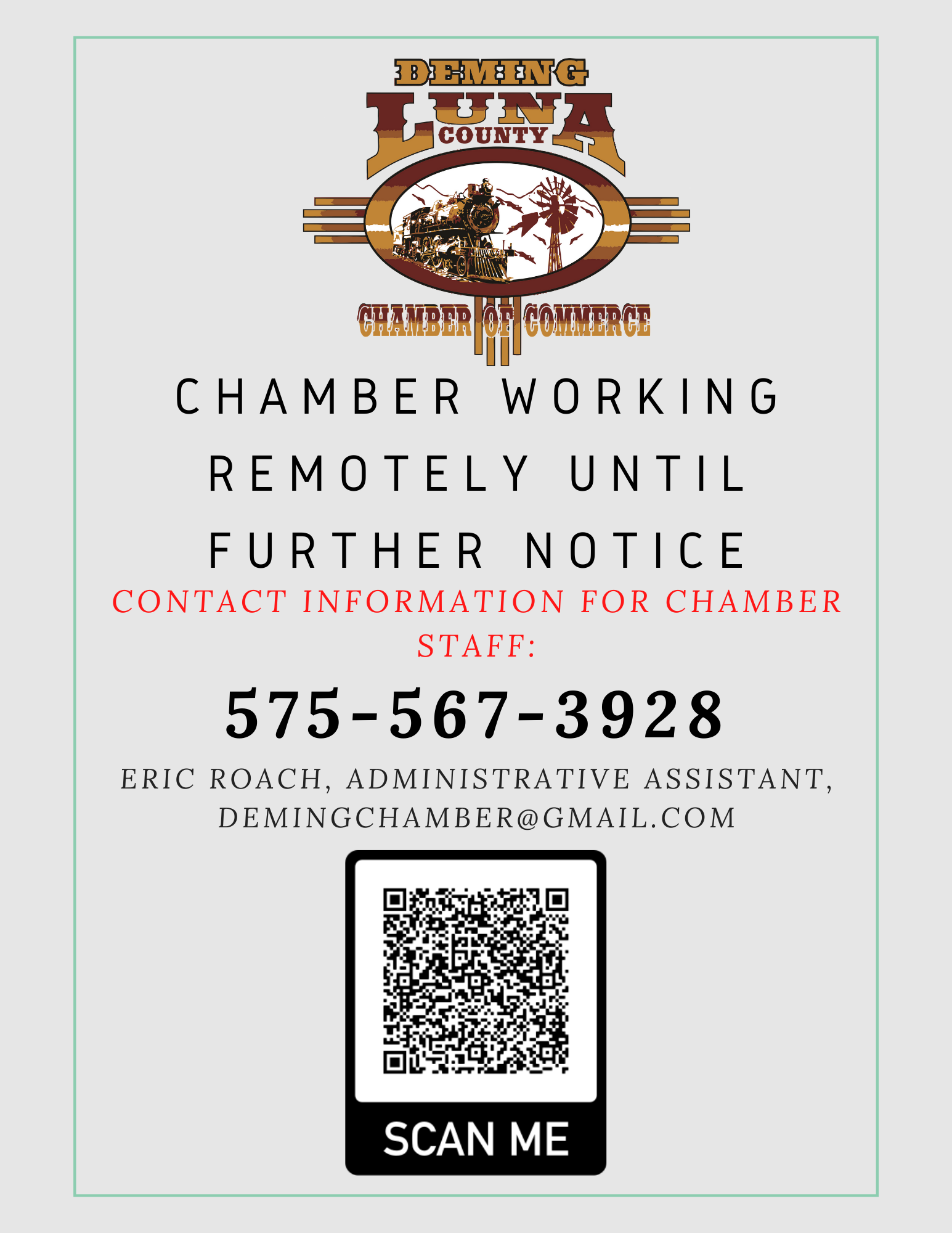 Chamber Remote Flyer