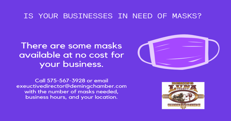 Free Face Masks for Businesses