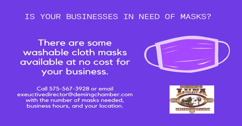 Free Cloth Face Masks for Businesses