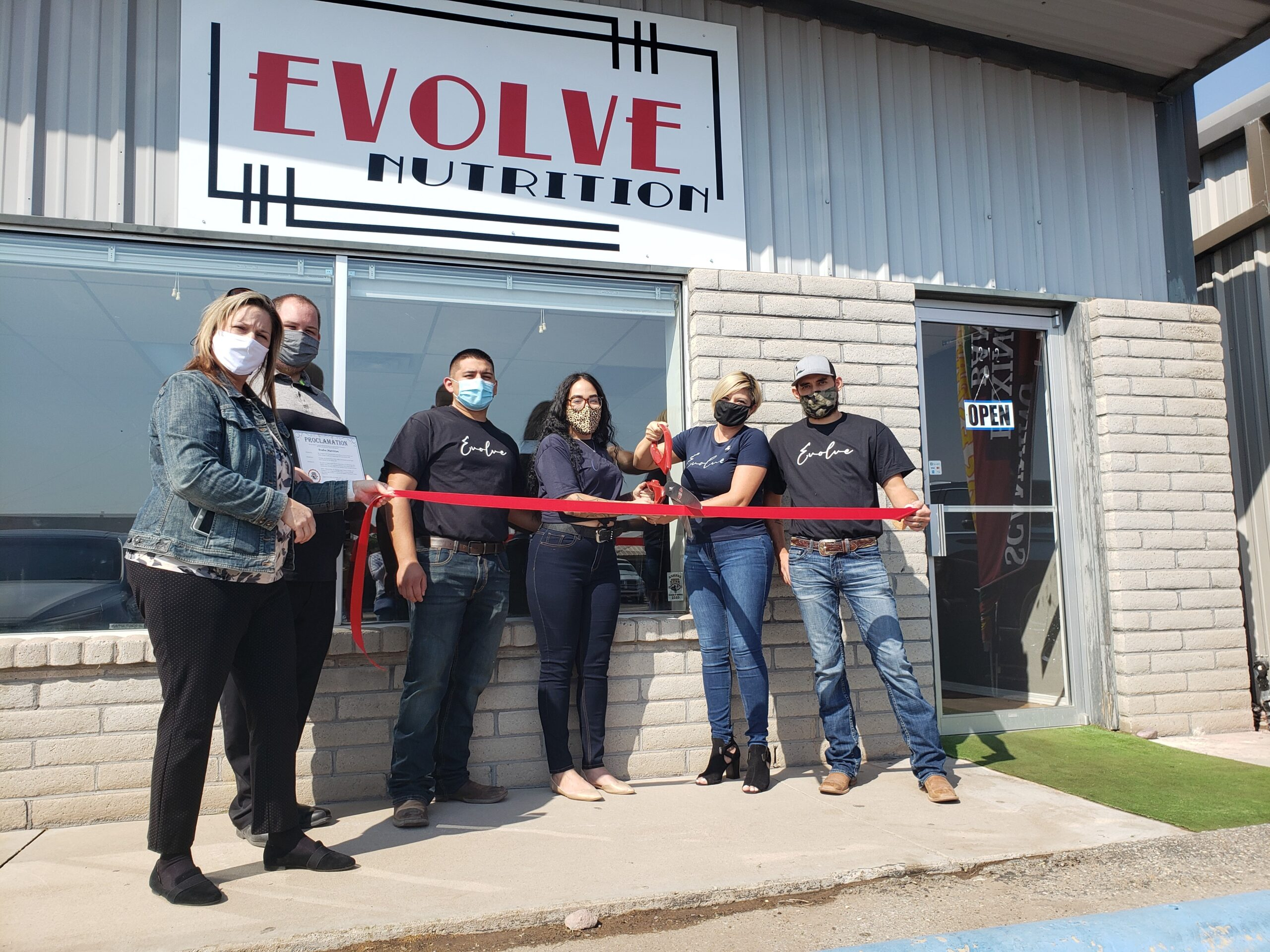 Evolve Nutrition Ribbon Cutting Ceremony