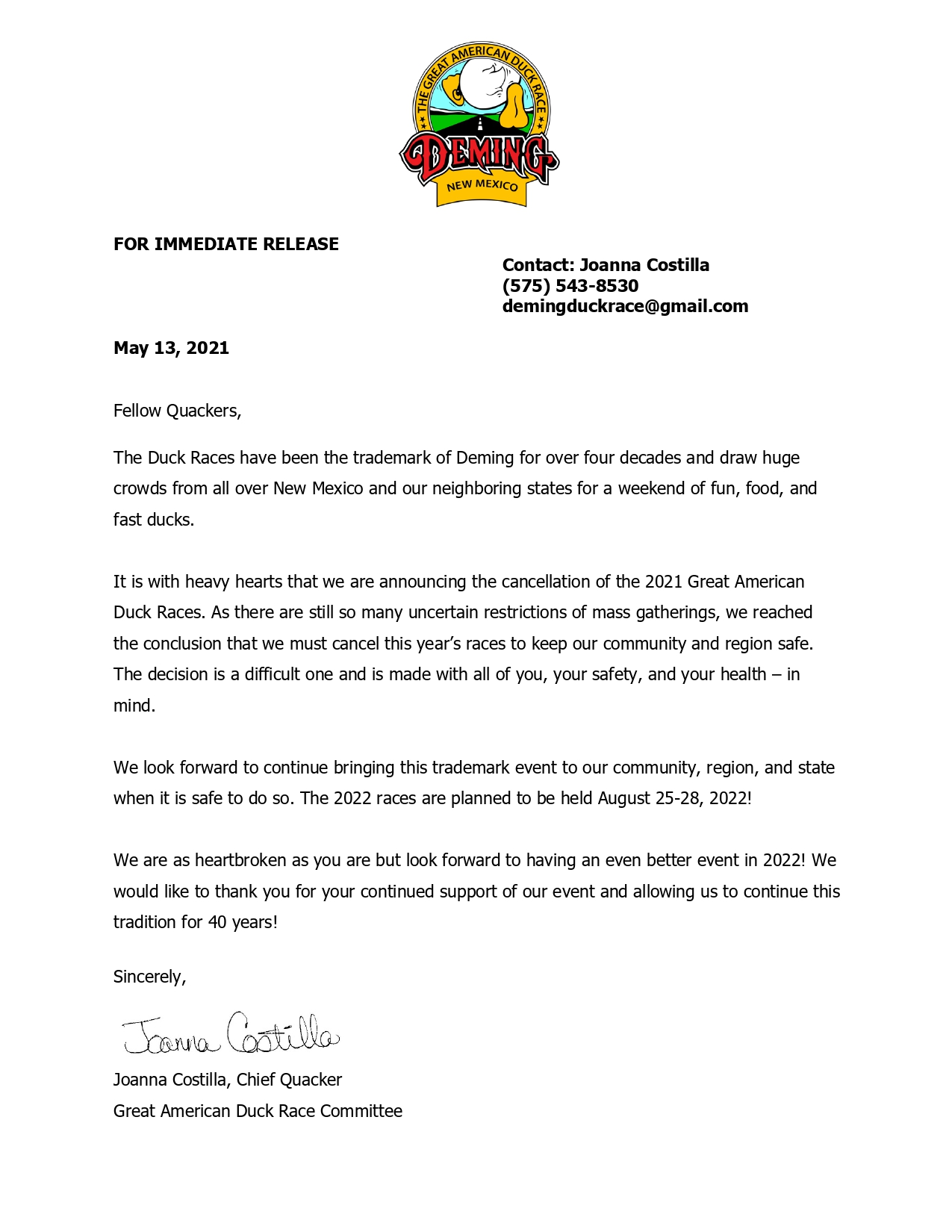 Event Cancellation Duck races_page-0001