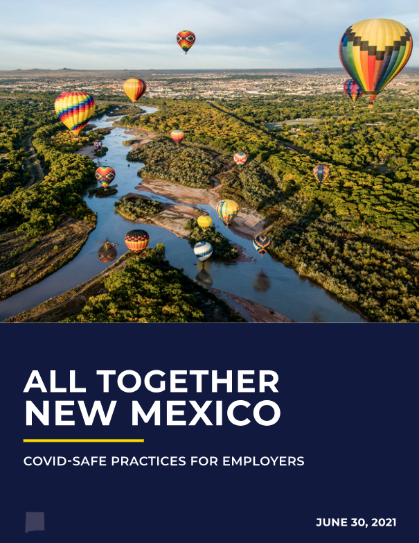 COVID Safe Practices for Employers 7-2021